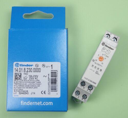 Finder Treppenhaus 14.01.8.230.0000 230V Lichtautomat Multifunktion 8 Prog
