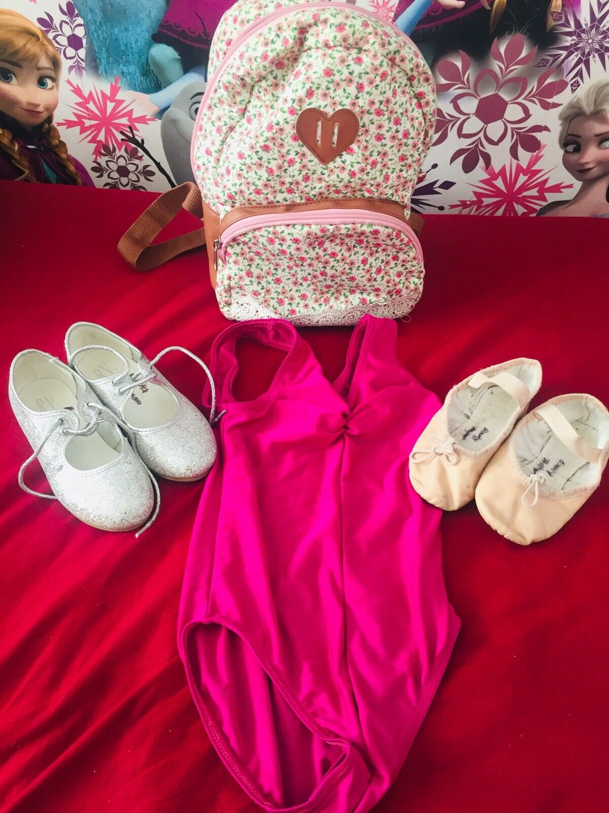 Preowned Children Tap Shoes Size 8, Other Various Items Used