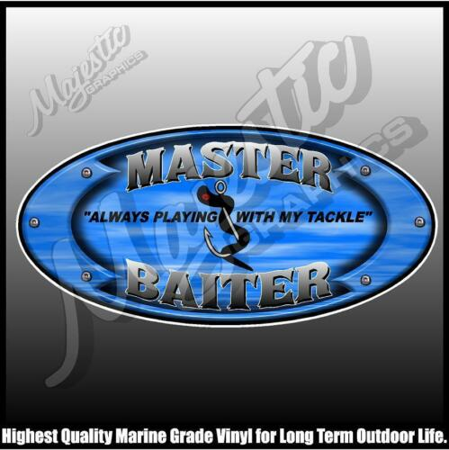 MASTER BAITER DECAL 250mm X 120mm BOAT DECAL