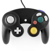 Black Shock Game Controller Pad for Nintendo Gamecube GC Wii