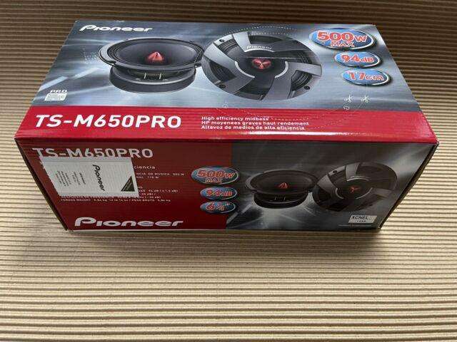 """Pioneer TS-M650PRO 500 Watt Pro Series 6.5"""" Mid-Bass Drivers Speakers PAIR NEW"""
