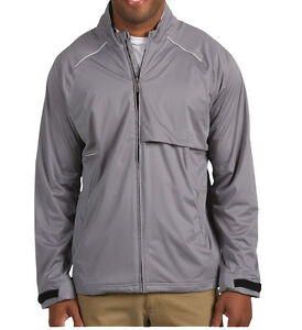 Details about Adidas Golf ClimaProof Waterproof Seamseal Wind Storm Soft  Shell Jacket Gray 2XL