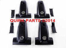 00-04 VW Volkswagen Jetta Golf Replacement Roof Rack End Caps Set of 4 OEM NEW