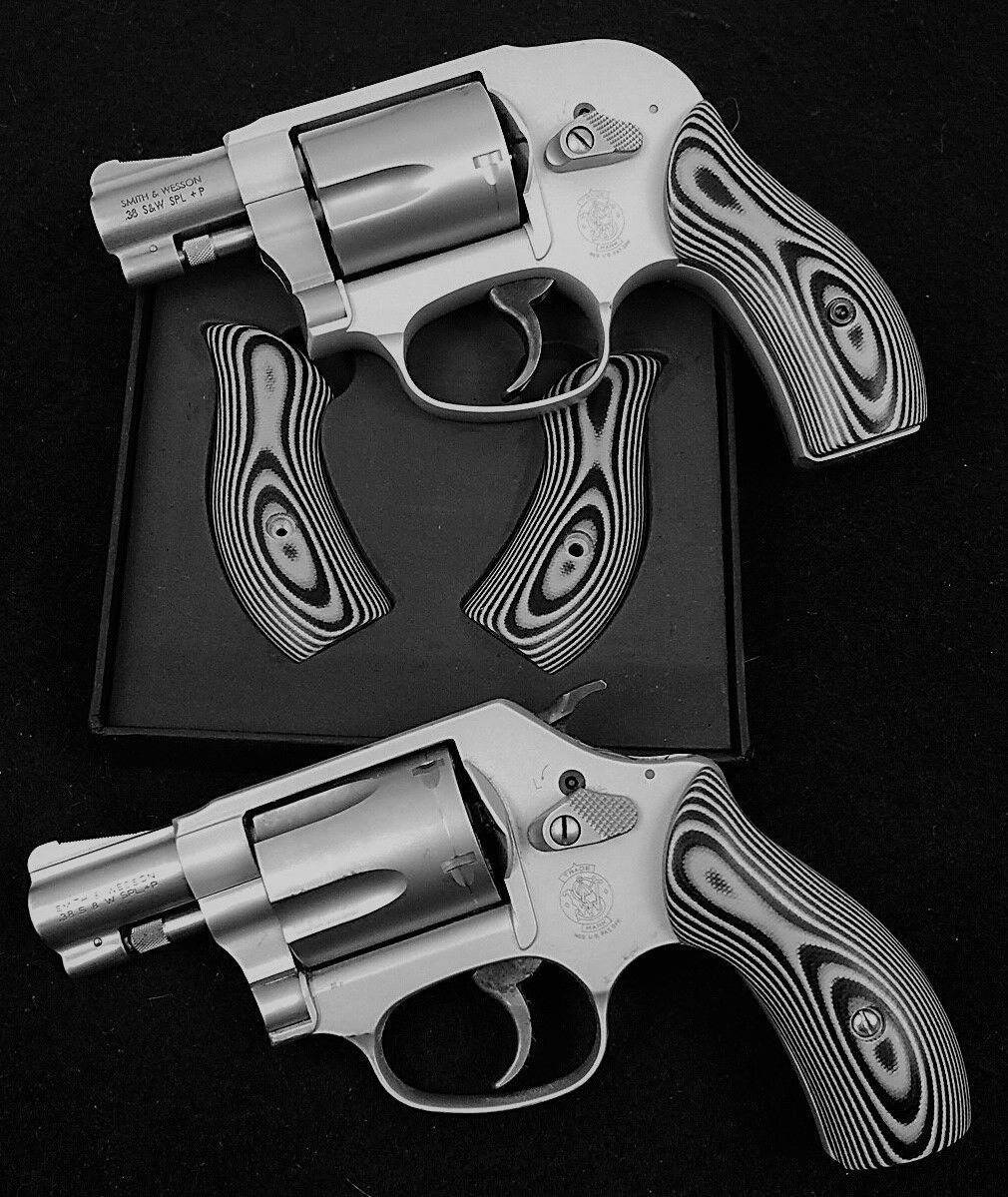 J Frame Grips Fits Most Smith & Wesson S&w G10 Layered STUNNING | eBay