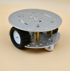 MINI-2WD-2Layer-Metal-aluminium-alloy-Smart-Robot-Car-Chassis-For-Arduino-CNC