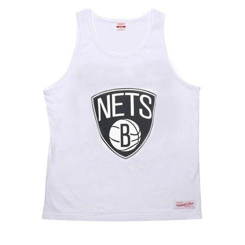 ffcd7eca0 Mitchell & Ness 'brooklyn Nets' Tanktop Guy White Medium for sale online |  eBay