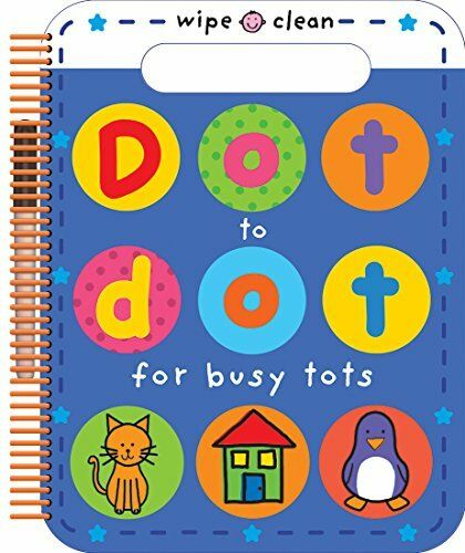 Dot to Dot for Busy Tots (Wipe Clean Dot-to-dot) by Roger Priddy Book The Cheap
