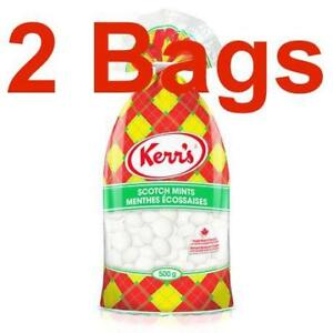 2-Bags-of-Kerrs-Scotch-Mints-500g-17-63oz-Fresh-to-you-from-Canada