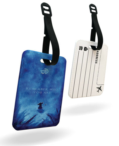 Passeport Housse /& Baggage Étiquette Lion King Remember Disney Papa Mufasa Simba
