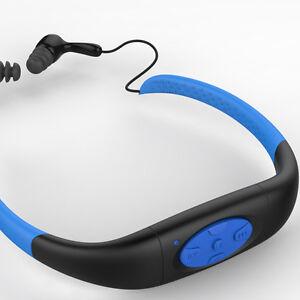 Waterproof-Swim-MP3-Player-Stereo-Music-8GB-For-Sport-Swimming-IPX8-W-FM