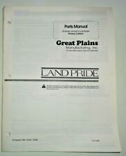 Great Plains Rcr 2560 2572 2584 Rotary Cutter Mower Parts Manual Book Land Pride