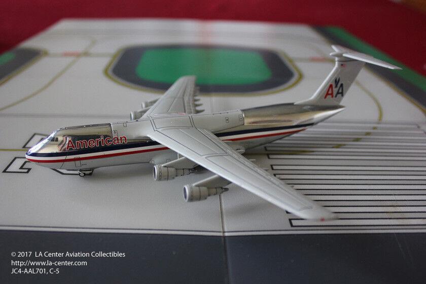 suministro de productos de calidad Jc Wing American Airlines Airlines Airlines Lockheed C-5 Galaxy Fantasía librea Diecast Modelo 1 400  mejor moda