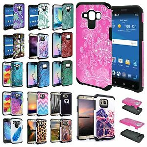 Hybrid-2-Layer-Impact-Hard-Protective-Case-Shockproof-Cover-For-All-LG-Phone