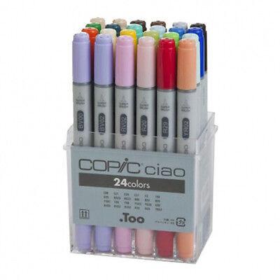 Copic Ciao Marker Set - 24 Pens