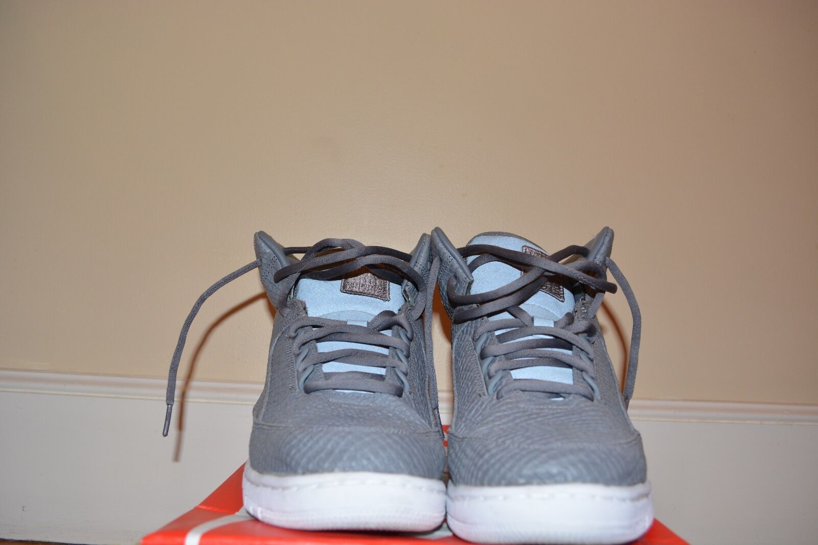 Nike Air Size Python Lux Cool Grey Size Air 11 US *USED* 186fd1