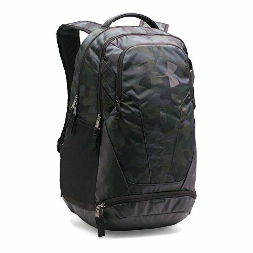 5dc2294a9c4e Under Armour UA Hustle 3.0 Camo Backpack Black green 1294720 290 for sale  online