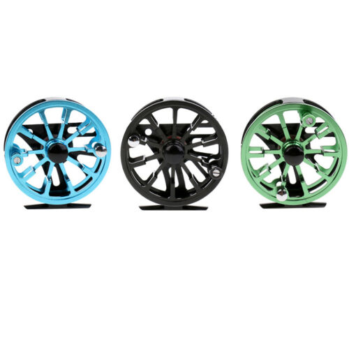 95mm 7//8 WF Fly Fishing Reels Large Arbor CNC Machined Metal Fly Reel Dia
