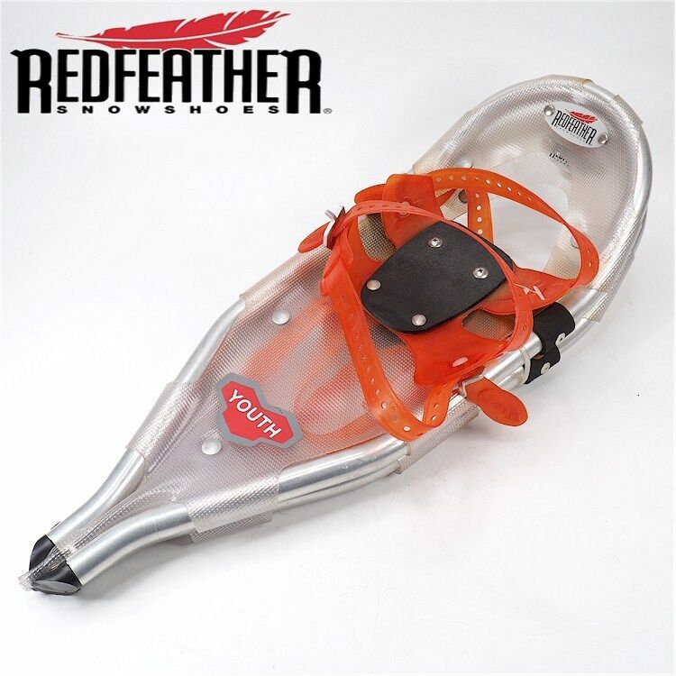 NEW REDFEATHER YOUTH  Snow shoes 20 x8  V-Tail MISSING TAGS  best quality