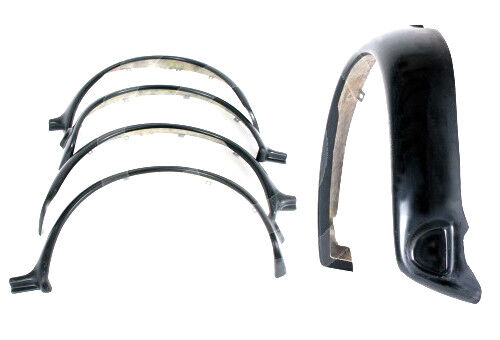 "CLASSIC MINI WHEEL SPORTPACK ARCHES WORKS SET 4 FIBRE GLASS WIDE 3.5/"" Z3565"