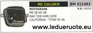 240291 MARMITTA SCocheICO SILENZIATORE MOTOSEGA McCULLOCH CALIFORNIA TITAN 41 46