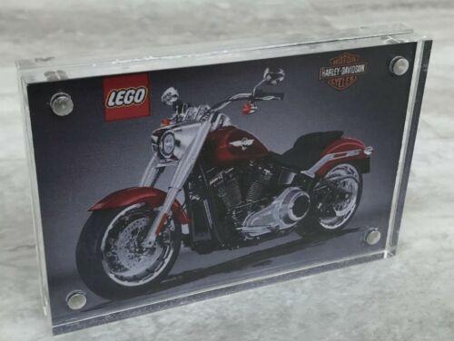 Lego Creator Harley Davidson 10269 Acrylic Display Plaque Double sided