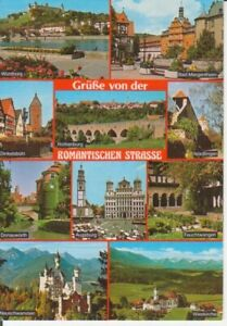 Grüße von der Romantischen Straße Mehrbildkarte gl1989 222.327