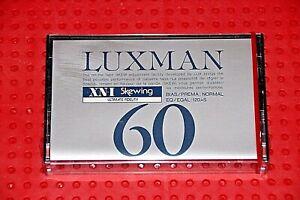 LUXMAN-XN-I-C-60-BLANK-CASSETTE-TAPE-1-SEALED