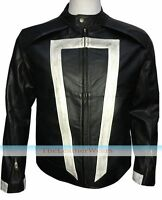 Agent Of Sheild Season 4 Ghost Rider Leather Jacket, All Size Available