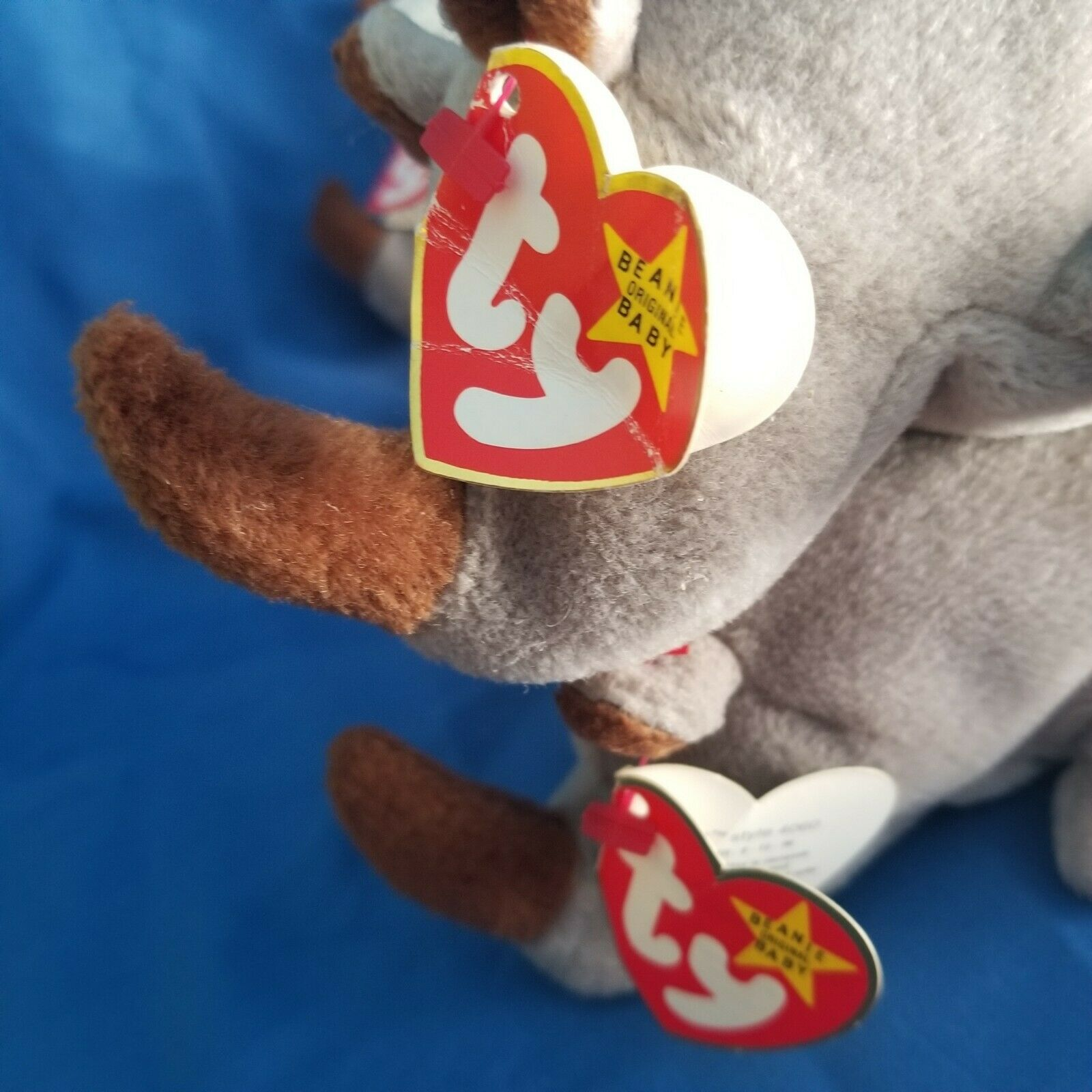 Lot Of 4 Ty Beanie Babies Spike Style 4060 4060 4060 With Errors 3dbe8f