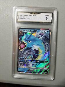 GYARADOS GX GRADED GMA MINT 9 Pokémon Hidden Fates #16 112522