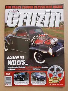 Cruzin-Magazine-Issue-93-July-2008-Hot-Rods-Classics-American-Cars