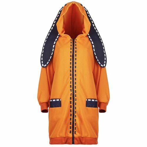 Kakegurui Jabami Yumeko Yomoduki Runa Coat Cosplay Costume Long Jacket Adult