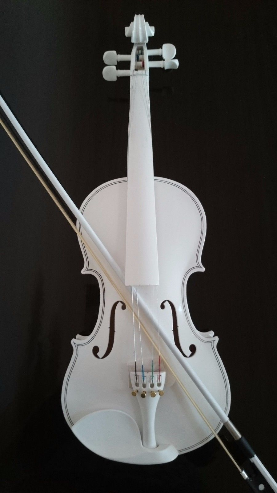 Estudiante Acústica Acústica Acústica Violín Completo 4 4 Maple Abeto Con Funda Arco Resina todos blancooColor  hasta 60% de descuento
