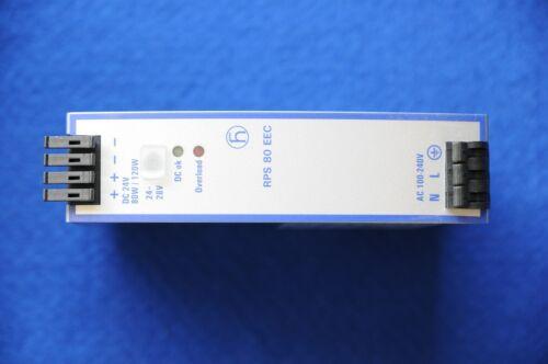 5 A 2 x NEU #36 Hirschmann RPS 80 EEC Hutschienen-Netzteil DIN-Rail