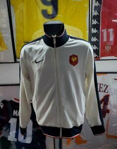 Maillot jersey shirt maglia camiseta veste jacket felpa nike n95 France rugby L