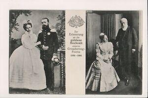 Vintage-Postcard-Frederick-I-Grand-Duke-of-Baden-amp-Princess-Louise-of-Prussia