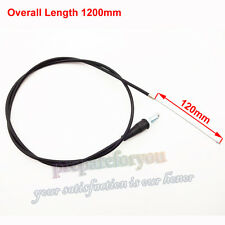 Pit Dirt Bike 1200mm Straight Head Throttle Cable For Chinese Mini Motocross