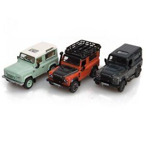 Land Rover Genuine Final Edt Defender 3 Piece 1:76 Scale Model Set 51LDDC019MXZ