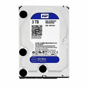 Western-Digital-WD-Blue-3TB-3-5-034-SATA-Internal-Desktop-Hard-Drive-HDD-5400RPM