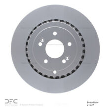 Disc Brake Rotor-Geospec Coated Rotor Rear DFC 604-54208