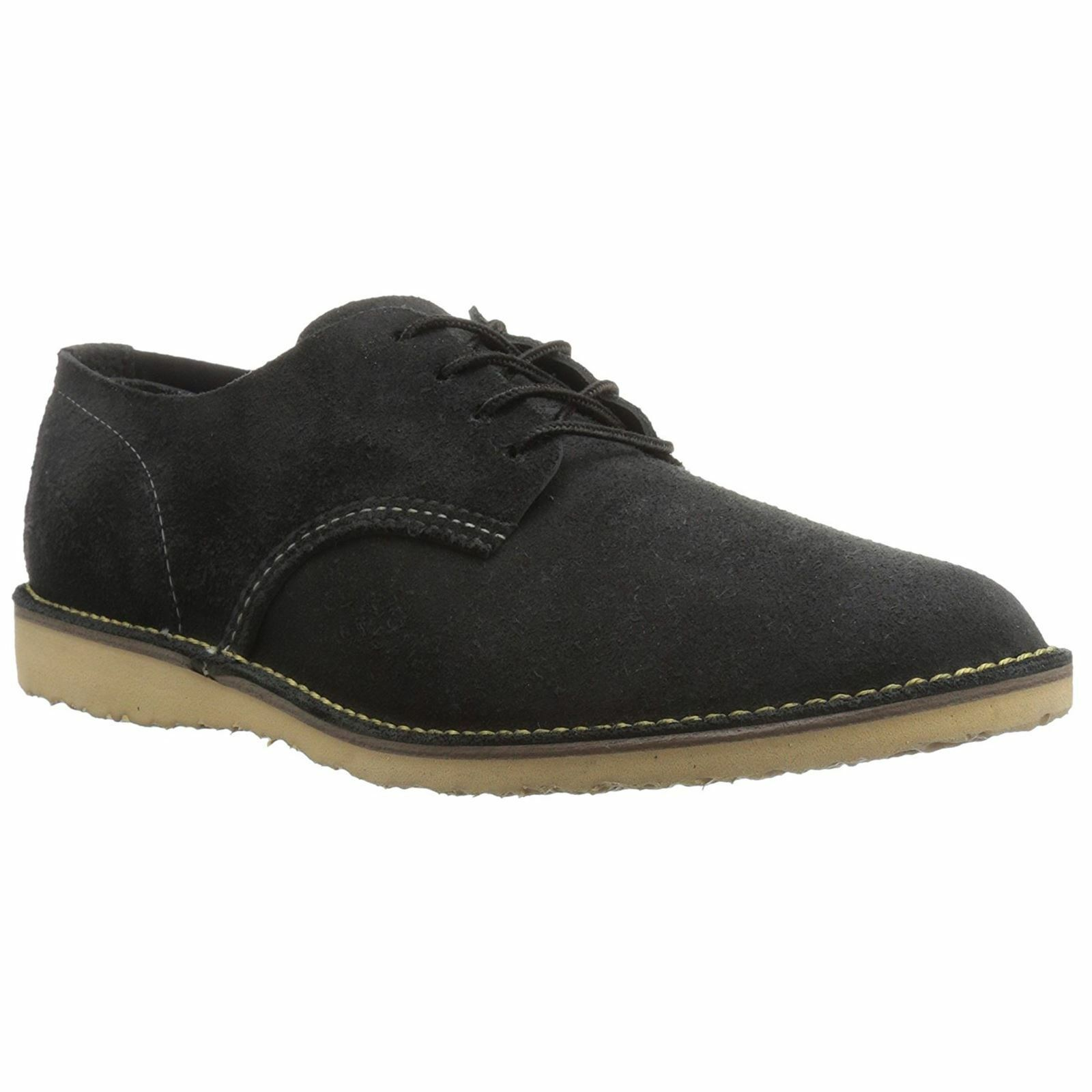 Red Wing Weekender Oxford 3304 Black Mens Leather Lace-Up Low Profile shoes