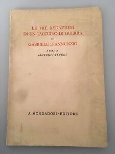 1942-Le-tre-redazioni-di-un-taccuino-di-guerra-di-Gabriele-D-039-Annunzio-Bruers