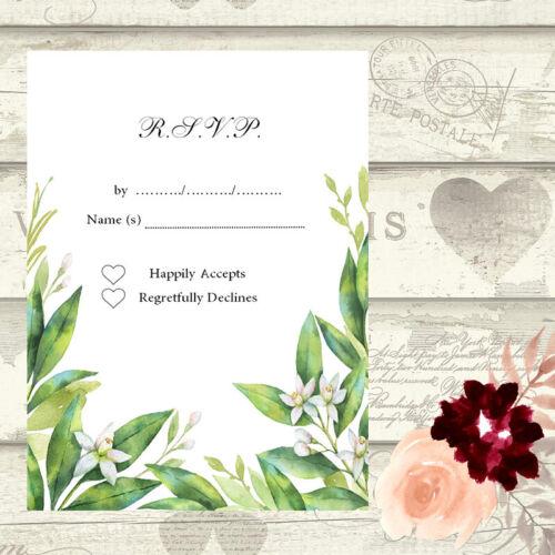 À faire soi-même Mariage Save the Date soirée cartes écrire votre propre invite jour nuit RSVP 6