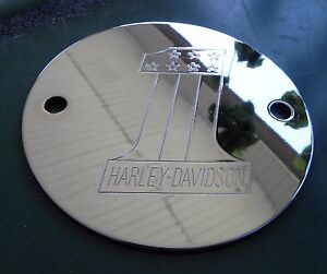 Details about Chrome Harley Davidson Ignition Points Timing Cover  Shovelhead EVO FL FX FLH FLT