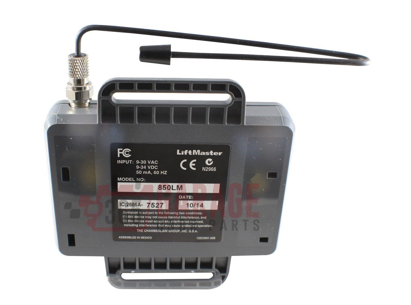 liftmaster 850lm universal gate and garage door opener receiver ebay rh ebay com Genie Garage Door Sensor Wiring Diagram Lift Master Sensor Wiring