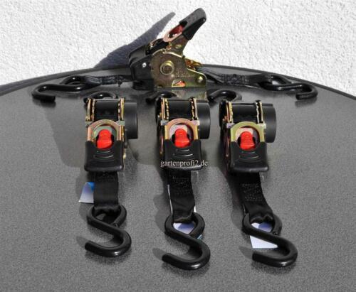 Zurrgurt 4x Automatik S Spanngurt 25mm x 1,8m GP.6,60EUR//St.