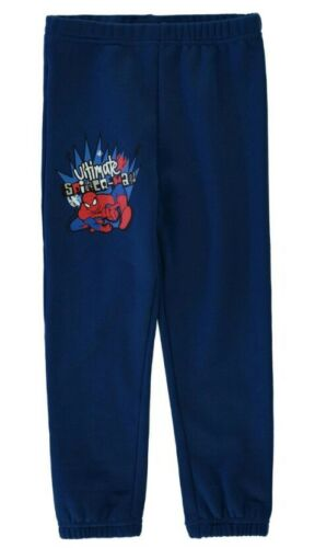Official Spider-Man Boys Fleece Pants Jogging Bottom Marvel Size 7-8 Years