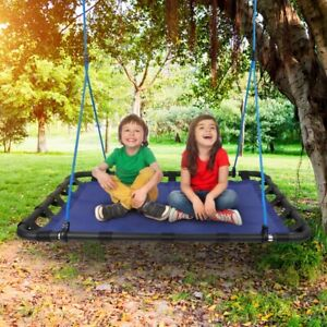 46'' Platform Tree Swing for Kids Adults – Large Surf Tire Swingset - 700 Lbs