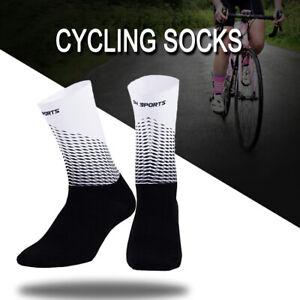 FM/_ Women Men MTB Cycling Riding Socks Basketball Sport Breathable Sock Witty