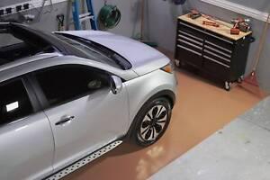 G Floor Mats >> Details About Blt G Floor 55 Mil Ribbed Garage Floor Mat